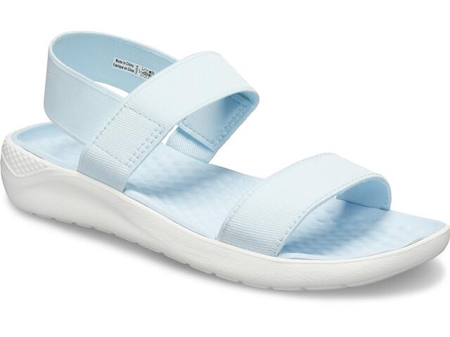 Crocs LiteRide Sandaalit Naiset, mineral blue/white